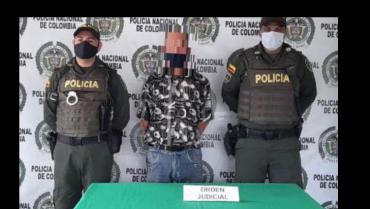 Hombre de 60 años capturado por delitos sexuales con menor de 14 años