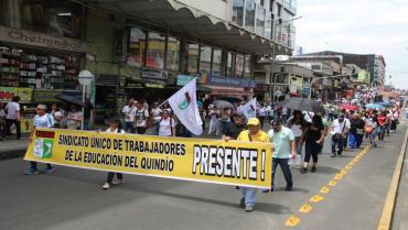 Sindicatos convocan nuevas protestas contra el gobierno en noviembre