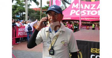 Periodista Ferney Cardona sufrió infarto cuando cubría la Vuelta a la Juventud