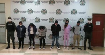 Judicializados presuntos integrantes de La Zaga, colectivo señalado de extorsión mediante falsa encomienda