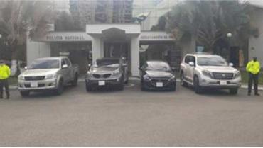 En Armenia, las autoridades recuperaron 4 carros robados