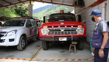 En Pijao, bomberos solo pueden apagar conatos de incendio