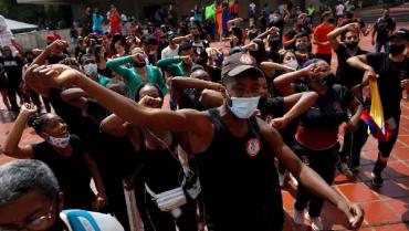 Bailarines exigen celebración de la tradicional Feria de Cali en Colombia