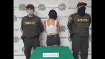 En Montenegro, capturada mujer que era buscada por porte ilegal de armas de fuego