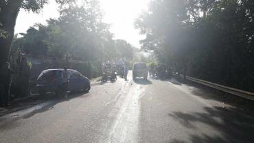 Accidente de tránsito con 3 vehículos involucrados dejó 4 lesionados