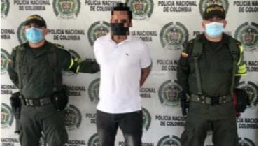 Sujeto que era buscado por 5 delitos, cayó en Quindío