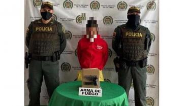 Hombre es investigado por andar armado en el barrio Valencia de Calarcá