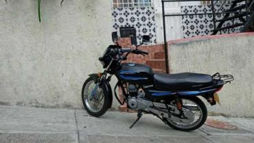 Hurtaron motocicleta este viernes en el barrio Simón Bolívar de Armenia