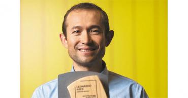 El ciclomontañista Leonardo Páez, el mejor deportista del año