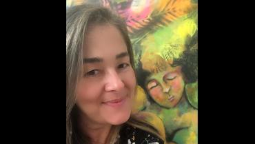Claudia Botero Botero enseña a canalizar las emociones por medio del arte