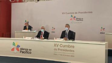 Presidentes de Chile y Colombia encabezan XV Cumbre de Alianza del Pacífico