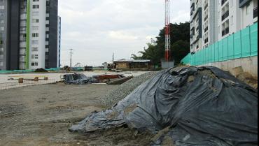 Construcción de terminal de Puerto Espejo, suspendida por falta de interventoría