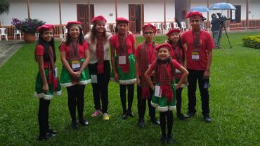 Coro Semillas de Paz, ganador en Concurso Nacional de Villancicos
