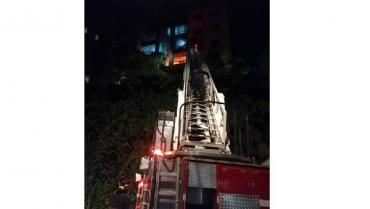 Incendio estructural en Torres del Río, sin lesionados