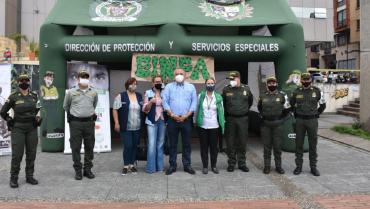 Policía dio a conocer campaña de protección a menores de edad