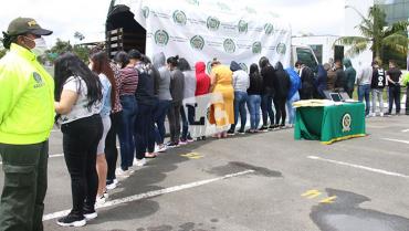 La Policía desarticuló 42 grupos delincuenciales en Quindío