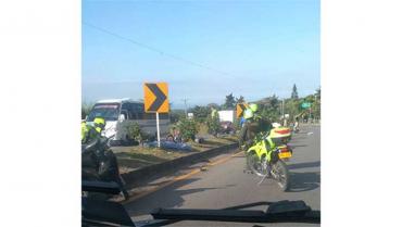 8 muertes menos por accidentes de  tránsito en Quindío durante 2020