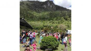 Ecoparque Peñas Blancas, un tesoro verde que dejó el cacique Calarcá