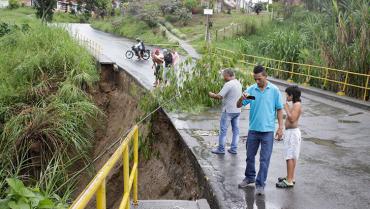 Tras casi 5 años de cierre, se acerca solución  al puente de Jardín de la Fachada