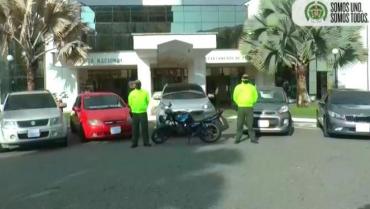 6 vehículos hurtados,  recuperados por la Policía