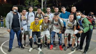 Selección Quindío sub-20, campeón copa navideña en el barrio Nuevo Armenia