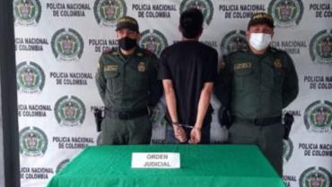 Condenado a 12 meses de prisión fue capturado en el barrio Santander