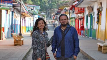 Jéssica Cruz y Germán Marín, la pareja que lleva cine colombiano por Suramérica