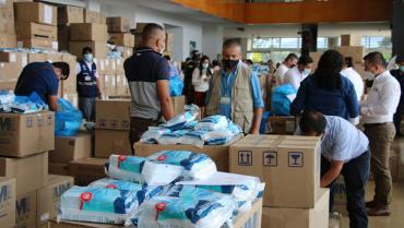 $1.700 millones en insumos recibieron los hospitales quindianos para atender de la pandemia