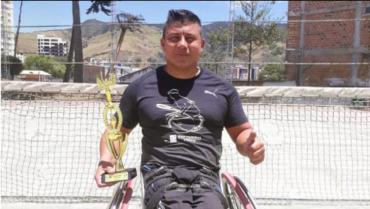 Diego Fernando Cortés Bernal, un deportista de cuerpo y alma