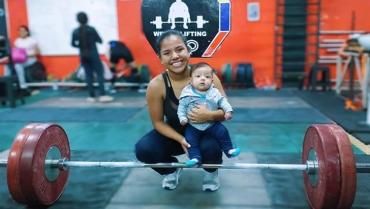 Con las pesas, Julieth Jiménez Palechor aprovechó oportunidades