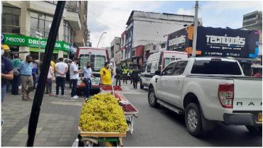 Autoridades realizan allanamientos en establecimientos comerciales del centro de Armenia
