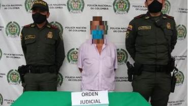 Capturado hombre de 73 años por actos sexuales con una menor de edad