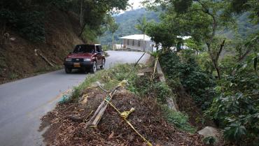 Para la obra de la vía Río Verde-Génova la inversión será de $3.000 millones