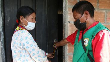 3 viviendas con autoconstrucción fueron entregadas a comunidad Embera Chamí