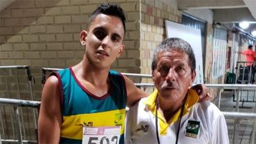 Pablo Andrés y Juan Pablo Castaño Villegas, los gemelos referentes del atletismo quindiano