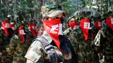 El Eln es un obstáculo para la paz de Colombia, advierte la Justicia Especial