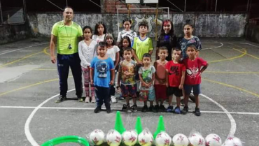 3 nuevas escuelas deportivas para el barrio La Miranda