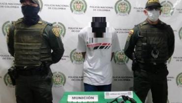 Confeso homicida de venezolano fue capturado, esta vez armado, pero de nuevo quedó libre