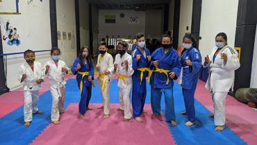 10 judocas quindianos buscan cupo en la preselección Colombia