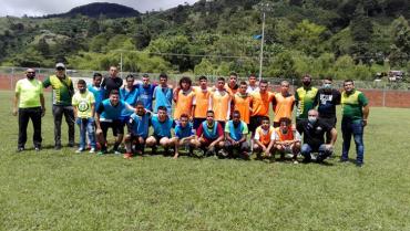 Pijao fomenta la práctica del fútbol en niños y jóvenes
