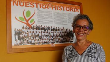 Ayudar a personas con condiciones especiales ha sido la pasión de Martha María Marín
