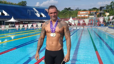 Leonardo Bohórquez, en el escalafón mundial de natación