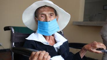 Ana Julia, la primera mayor de 80 años que será vacunada contra la Covid en Quindío