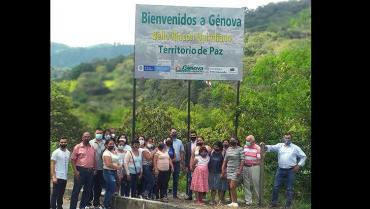 1.414 víctimas del conflicto armado han encontrado una segunda vida en Génova