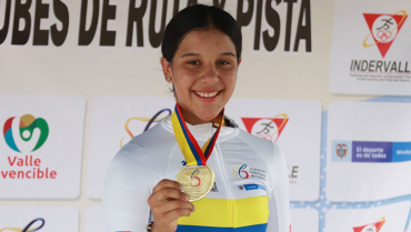 Mariana Burgos ganó oro en Campeonato nacional interclubes de ciclismo
