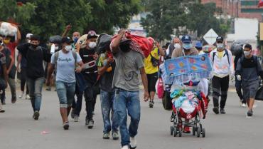 Colombia inaugura centro de atención transitorio para migrantes venezolanos