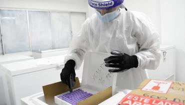 576 dosis contra la Covid-19 de Pfizer llegaron este lunes al Quindío
