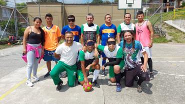 Club de fútbol 5  visual solicita apoyo para participar en juegos nacionales