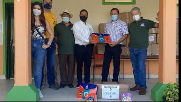 3.500 niños de la zona rural recibirán paquetes escolares de parte del Comité de Cafeteros