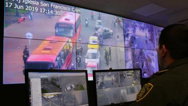 Alcaldía de Armenia busca poner en  funcionamiento 500 cámaras de vigilancia